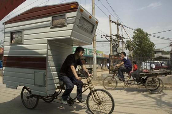 Mit dem Fahrrad auf den Campingplatz